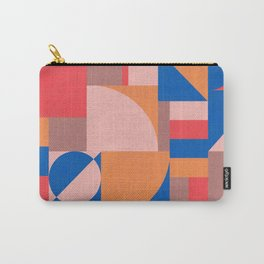 Muted Primary Bauhaus Carry-All Pouch