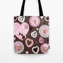 LUCYS CHOCOLATE FACTORY Tote Bag