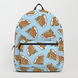 Gingerbread House Pattern - Christmas Day Backpack