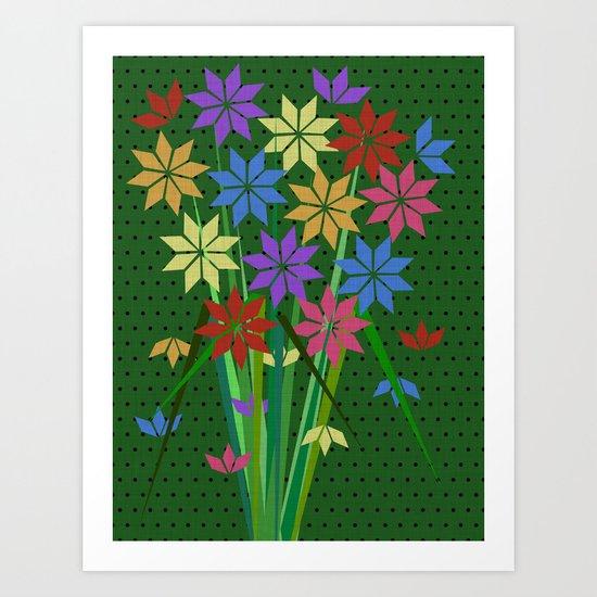 Woodcutter's Flowers Art Print
