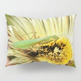Praying Mantis Pillow Sham