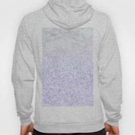 She Sparkles - Pastel Purple Glitter Marble Hoody