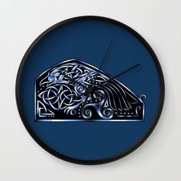Celtic Raven Wall Clock
