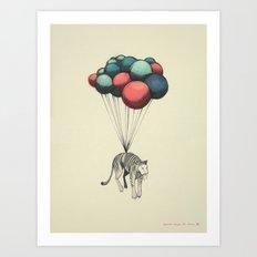 Muerte Desde El Cielo, II (El Tigre) Art Print