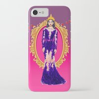 evil queen iPhone & iPod Cases featuring  Queen Grimhilde ( The Evil Queen ) by Sara Eshak