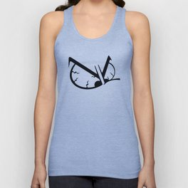 Angry Smurf Unisex Tank Top