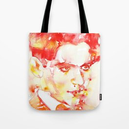 FEDERICO GARCIA LORCA - watercolor portrait Tote Bag