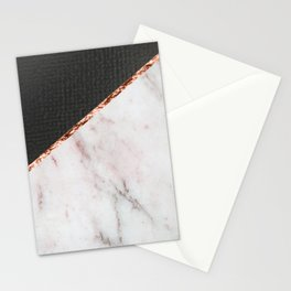 Marble fashion texture Stationery Cards