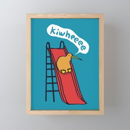 Kiwi Framed Mini Art Print