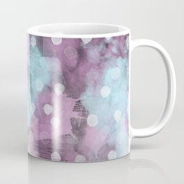 Watercolor Polka Dot Pattern Coffee Mug
