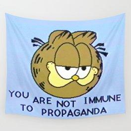 You Are Not Immune To Propaganda Wandbehang