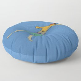 Poor Floater Floor Pillow