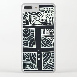 your thoughts Clear iPhone Case