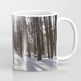 Yellowstone National Park - Lodgepole Forest 2 Coffee Mug