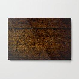 Old Floorboards Metal Print