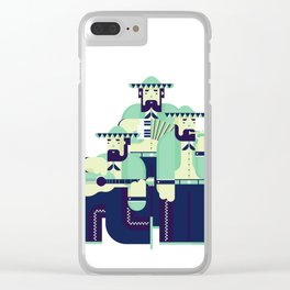 Mariachi Band Clear iPhone Case