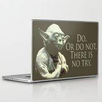 yoda Laptop & iPad Skins featuring Yoda by DisPrints