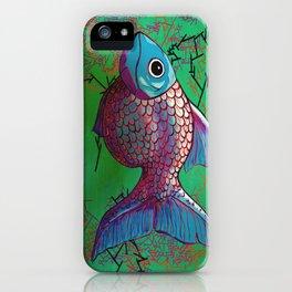BETA FISH 2.0 iPhone Case