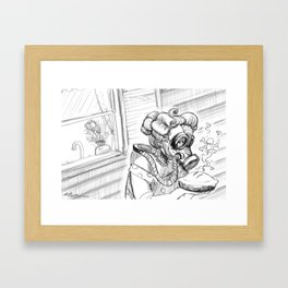 This is why we don't invite Alice Framed Art Print