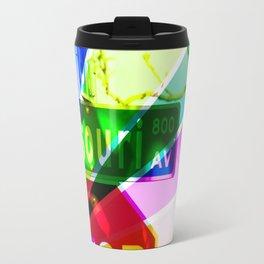 Multi-Colored Missouri Travel Mug
