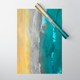 Watercolour Summer beach II Wrapping Paper