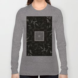 Organic Light b&w Long Sleeve T-shirt