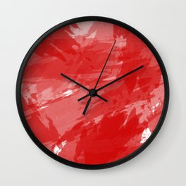 RED HOT CHILI PRINT Wall Clock