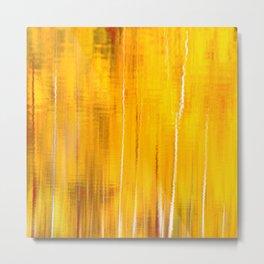 Autumn colors reflecting on the lake surface #decor #society6 #buyart Metal Print