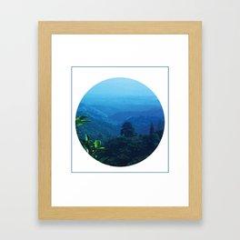 El Salvador view point Framed Art Print