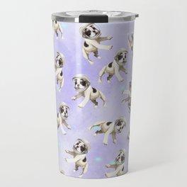 Pastel Space Pups Travel Mug