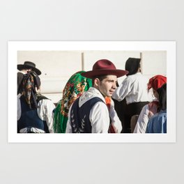 after the show Art Print