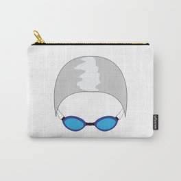 Swim Cap and Goggles Carry-All Pouch