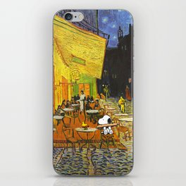 Snoopy meets Van Gogh iPhone Skin