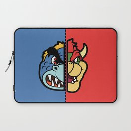 Old & New Bowser Laptop Sleeve