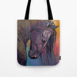 Friesian Horse Tote Bag