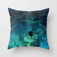 The Universe Below Throw Pillow