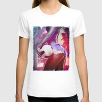 volleyball T-shirts featuring Beach volleyball girl sexy by Swagnation Dopetribe