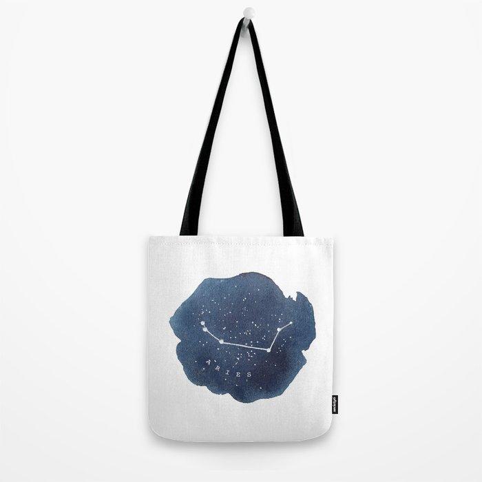 aries constellation zodiac Tote Bag