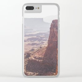 Canyons Clear iPhone Case