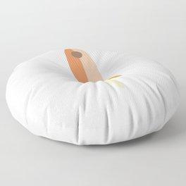 Rocket - Orange Floor Pillow