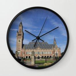 peace palace Wall Clock