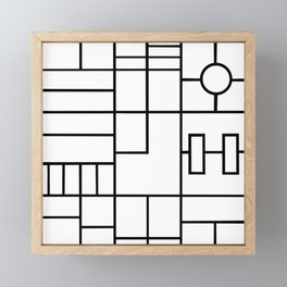 PS Grid Framed Mini Art Print