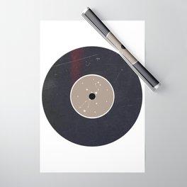 Vinyl Record Star Sign Art   Virgo Wrapping Paper