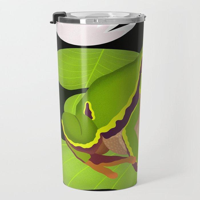 Lilypads Bullfrog Travel Mug