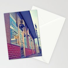 Larry's barber shop Stationery Cards
