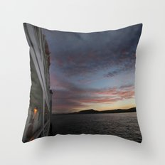Lost in Mexico Throw Pillow