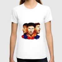 barcelona T-shirts featuring Barcelona by IremYorukoglu