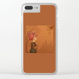 September Clear iPhone Case