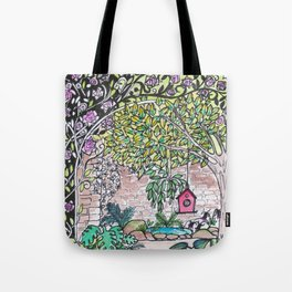 Val's Beautiful Garden Tote Bag