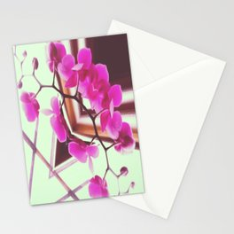 Orchid Manipulation Stationery Cards